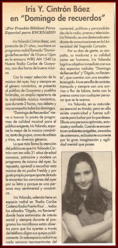 Iris - En la Prensa 1