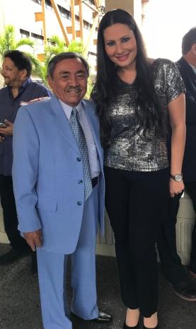 Odilio González e Iris