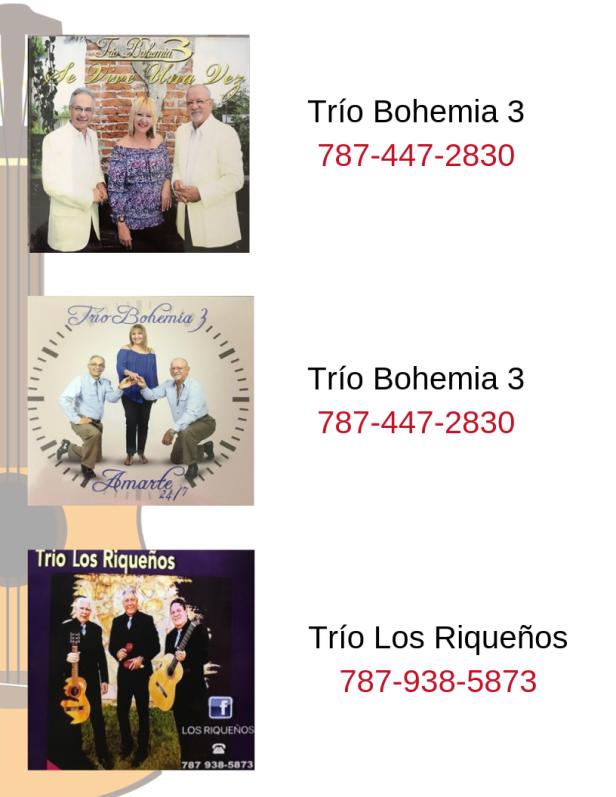 Promoción discos en venta Tríos y Boleros