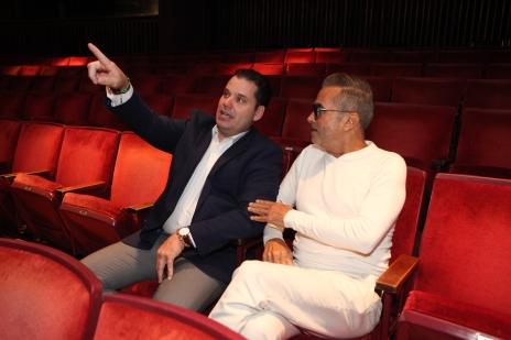 Wilkins con Pérez de Corcho