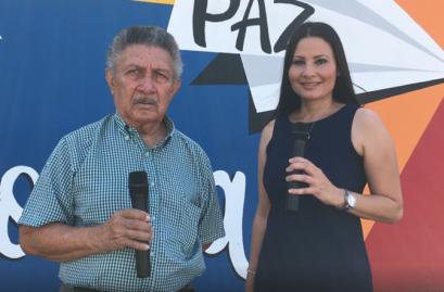 Iris con Roberto Villafañe