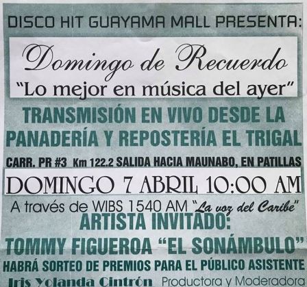 Trios y Boleros Tommy Figueroa Domingo de Recuerdos