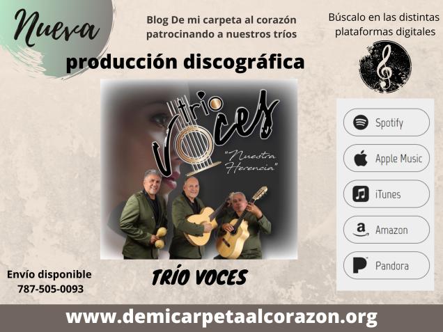 Trios y Boleros PR Trio Voces